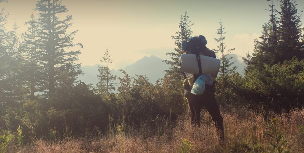 Go hiking with all the comforts of home in one bag!